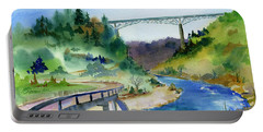 Foresthill Bridge #2 Portable Battery Charger