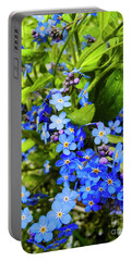 Forget-me-not Flowers Portable Battery Charger