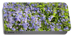 Forget-me-not - Myosotis Portable Battery Charger
