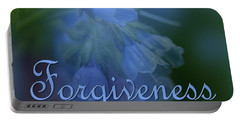 Forgiveness Blue Bells Portable Battery Charger