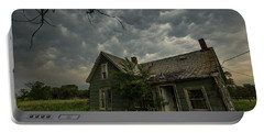 Portable Battery Charger featuring the photograph Forgotten Mammatus  by Aaron J Groen