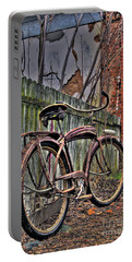 Portable Battery Charger featuring the photograph Forgotten Ride 2 by Jim and Emily Bush