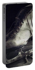 Portable Battery Charger featuring the photograph Forgotten Winter by Amy Weiss