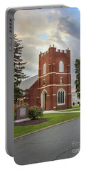 Fork Union Military Academy Wicker Chapel Sized For Blanket Portable Battery Charger