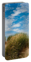 Formby Sand Dunes And Sky Portable Battery Charger