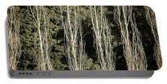 Forrest View Portable Battery Charger by Michael Nowotny