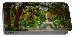 Forsyth Park Fountain Portable Battery Charger