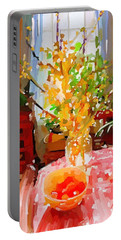 Forsythia Spring Gloucester, Ma Portable Battery Charger