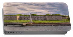 Fort Independence At Castle Island Portable Battery Charger