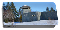 Fort Michilimackinac Northeast Blockhouse Portable Battery Charger