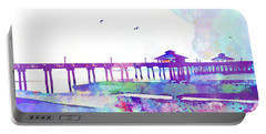Fort Myers Beach Pier Portable Battery Charger