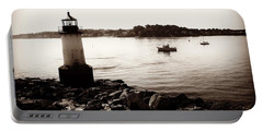 Fort Pickering Lighthouse, Winter Island, Salem, Massachusetts Portable Battery Charger