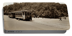 Fort Tryon Trolley Portable Battery Charger