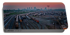 Fort Worth Trainyards Portable Battery Charger