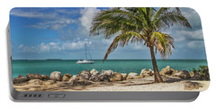 Portable Battery Charger featuring the photograph Fort Zachary Taylor State Park - Find Paradise In Key West Florida  by Bob Slitzan