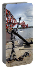 Portable Battery Charger featuring the photograph Forth Bridge by Jeremy Lavender Photography