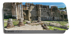 Portable Battery Charger featuring the photograph Forum Of Augustus by Scott Carruthers