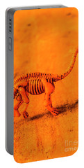 Fossilised Exhibit In Toy Dinosaurs Portable Battery Charger