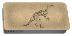 Fossils Of A Dinosaur Portable Battery Charger