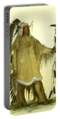 Four Bears Mandan Chief 1833 Portable Battery Charger