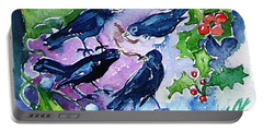 Four Calling  Birds Portable Battery Charger