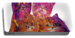 Four Cute Kittens  Portable Battery Charger