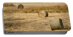 Four Hay Balls -  Portable Battery Charger