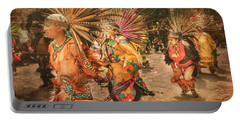 Four Indian Dancers Portable Battery Charger