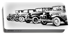 Four Model A's Portable Battery Charger by Steve McKinzie