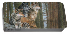 Four Wolves Portable Battery Charger