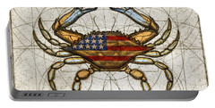 Fourth Of July Crab Portable Battery Charger