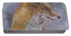 Fox In A Flurry Portable Battery Charger