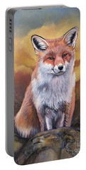 Fox Knows Portable Battery Charger