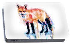 Fox  Portable Battery Charger by Marian Voicu