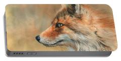 Fox Portrait Portable Battery Charger
