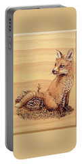 Fox Pup Portable Battery Charger