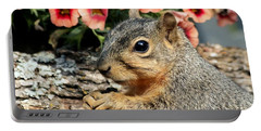 Fox Squirrel Portrait Portable Battery Charger
