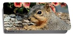 Fox Squirrel Portrait Portable Battery Charger