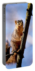 Fox Squirrel's Last Look Portable Battery Charger