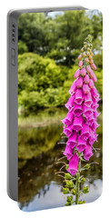 Foxglove In Flower Portable Battery Charger