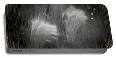 Foxtail Barley  Portable Battery Charger
