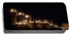 Portable Battery Charger featuring the photograph Fpl Natural Gas Power Plant  by Bradford Martin