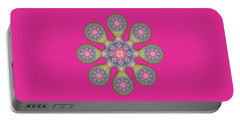 Fractal Blossom 1 Portable Battery Charger