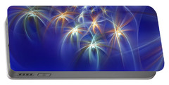 Fractal Fireworks Portable Battery Charger