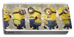 Fragmented And Still In Awe Congratulations Minions Portable Battery Charger