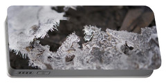 Fragmented Ice Portable Battery Charger
