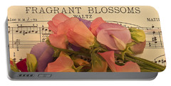 Fragrant Blossoms Portable Battery Charger