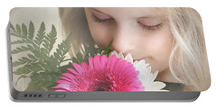 Fragrant  Flowers Portable Battery Charger