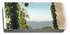 Portable Battery Charger featuring the photograph Framing Napa Valley by Joan  Minchak