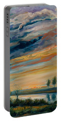 France IIi Portable Battery Charger by Rick Nederlof